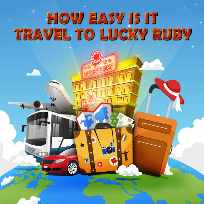 TRAVEL TO LUCKY RUBY BORDER CASINO