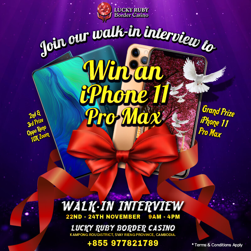 LUCKY RUBY'S WALK-IN INTERVIEW 2019