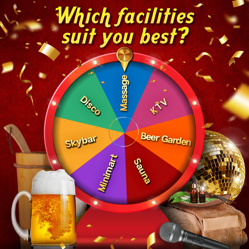 WHICH FACILITIES SUIT YOU BEST?