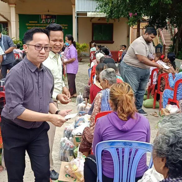 Special Donation Event with Koh Andeth Pagoda